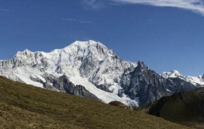 Il Monte Bianco: tetto d'Europa