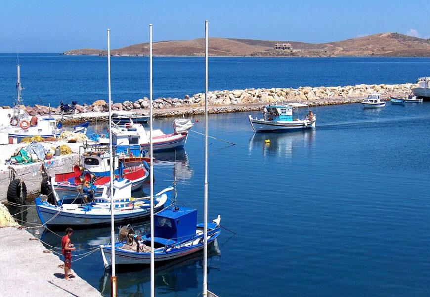 Spiagge per nudisti sull'isola greca di Lesbo